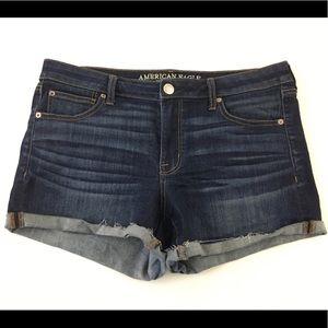 American Eagle Women's Denim Shortie Size 14 NEW